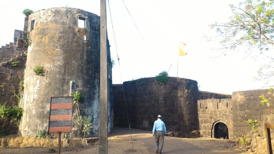 Jaigad Fort : front view