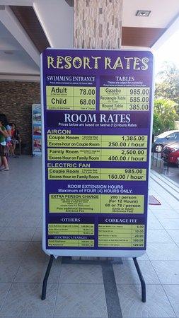 Laguna Hot Spring Resort Room Rates