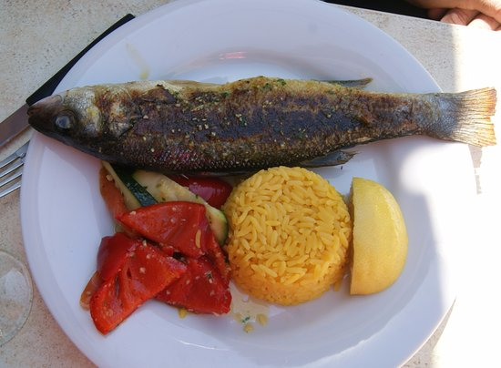 Ensues-la-Redonne, France : loup de mer