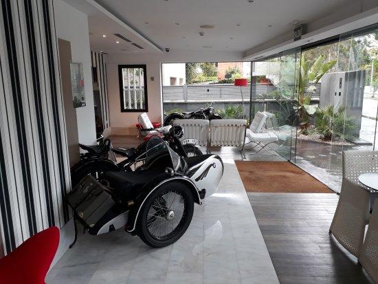 Hotel Sitges: Entrance area