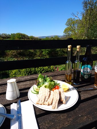 Kilfinan, UK: lunch with a view