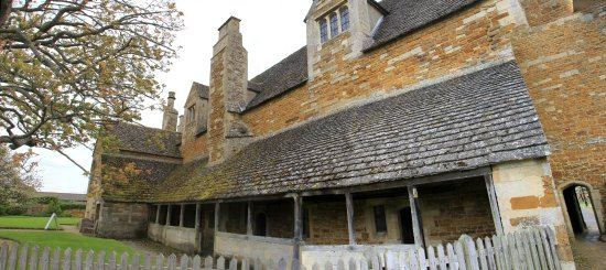 Lyddington Bede House: Outside the back of the house