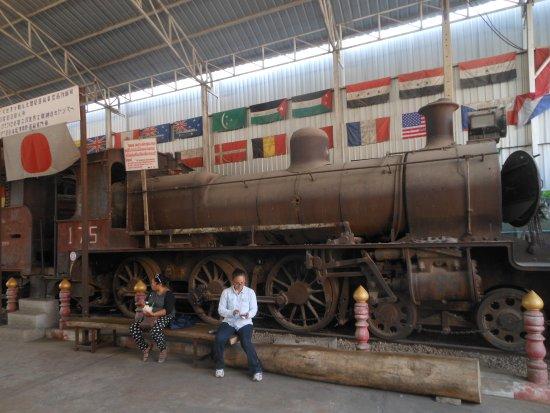 War Museum : Kanchanaburi, l'esterno del museo della 2.da guerra mondiale