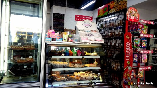 Sacred Ground: The cake counter... so delicious
