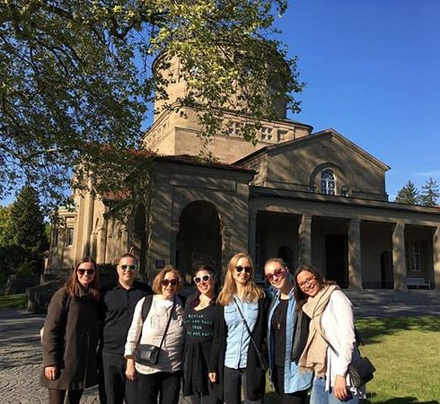 Frankfurt on Foot Walking Tours : Cemetery Tour with Jo Ator from Frankfurt on Foot. Thank you for everything!