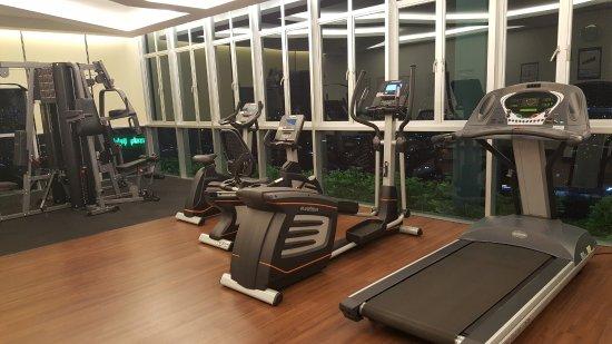 Fitness room picture of holiday villa johor bahru city