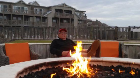 Sanderling Resort: Keeping warm on a cool April get away