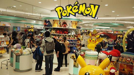 Pokemon Center Sapporo Picture