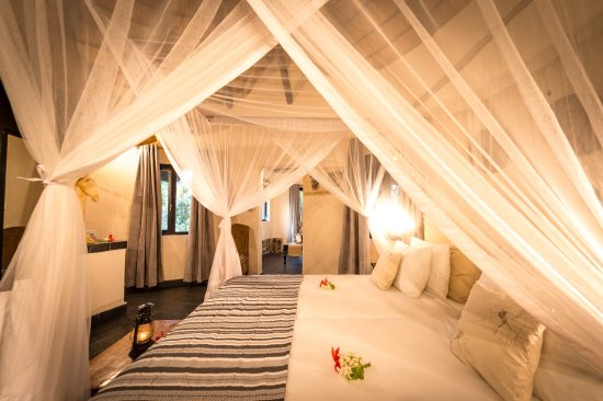 Balule Nature Reserve, Sydafrika: Billy's Lodge Luxury Cottage Bedroom View 8