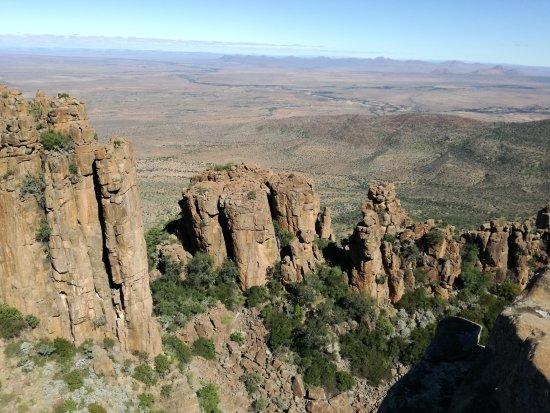 Graaff-Reinet, South Africa: Rock formation
