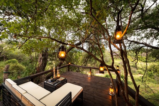 Balule Nature Reserve, South Africa: Billy's Lodge Luxury Cottage Private Deck View 1
