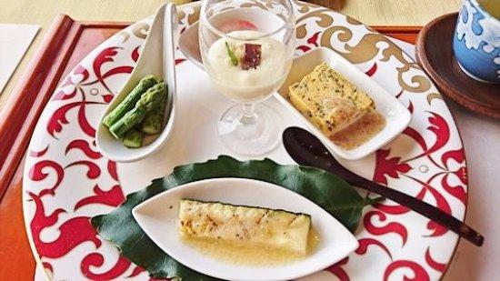 Kyushu Hotel: 地産地消の前菜