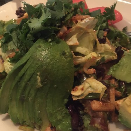 Delicious Salad With Avocado Picture Of Grand Lux Cafe Garden City Tripadvisor