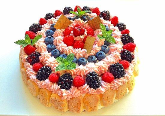 Presezzo, Italia: torta di compleanno