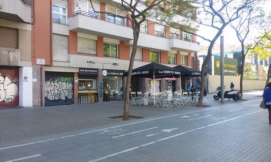 Terraza Miró Picture Of La Terraza Miro Barcelona
