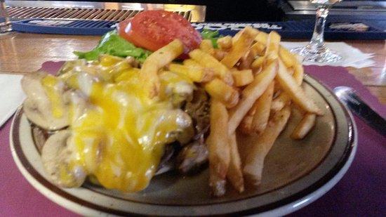 Hill Top Inn: The Mush Burger!