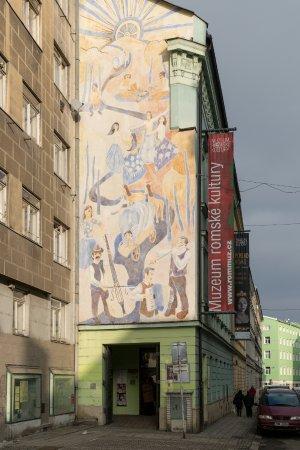 Brno, Czech Republic: Budova Muzea romské kultury