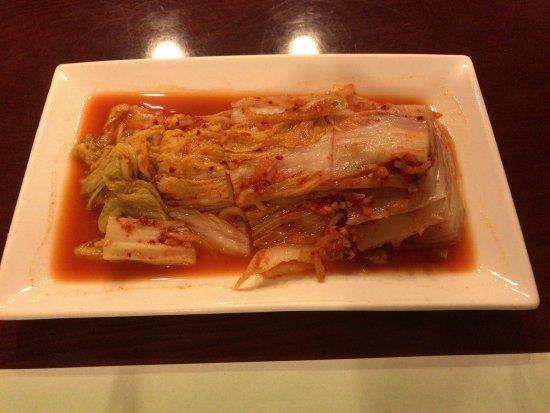 Ji'an, Kina: キムチ。味はなかなかよい。水キムチを頼んだはずだが…うーん。
