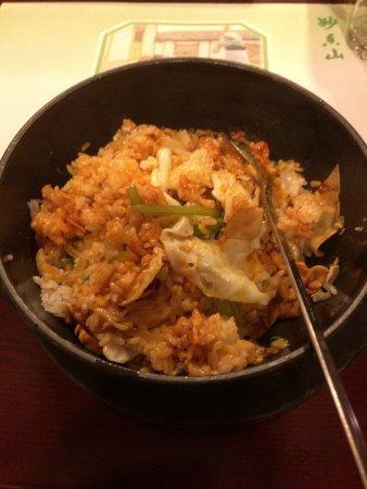 Ji'an, China: 混ぜ終わった後。東京のそこそこの韓国料理屋で食べた方がおいしいが、それは基準が違うから仕方がないか。