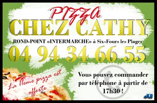 carte fid lit photo de pizza chez cathy six fours les plages tripadvisor. Black Bedroom Furniture Sets. Home Design Ideas