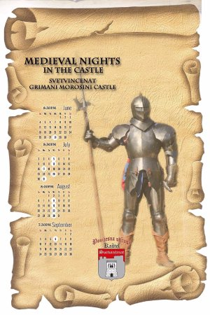 Svetvincenat, Κροατία: The arrangement of Medieval nights in the Castle this year