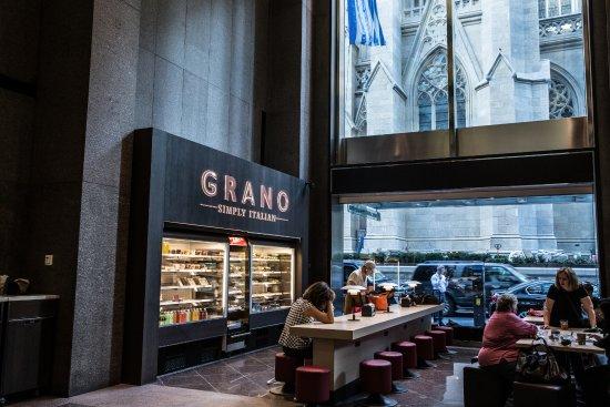Grano Inside Olympic Tower Picture Of Grano New York City Tripadvisor