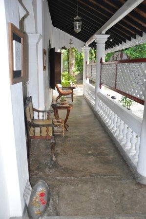 Nooit Gedacht Heritage Hotel: ingresso