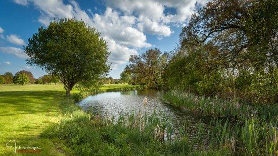 Bentley, UK: Views across the course