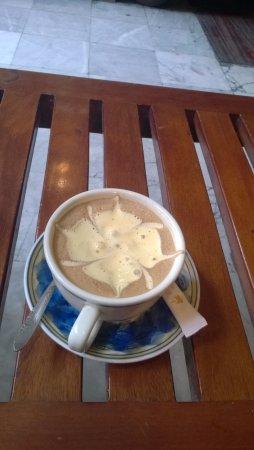 Puku Cafe and Sports Bar: Egg coffee