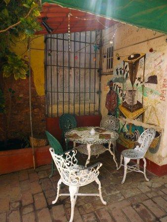 Cafe Don Pepe: colourful corner