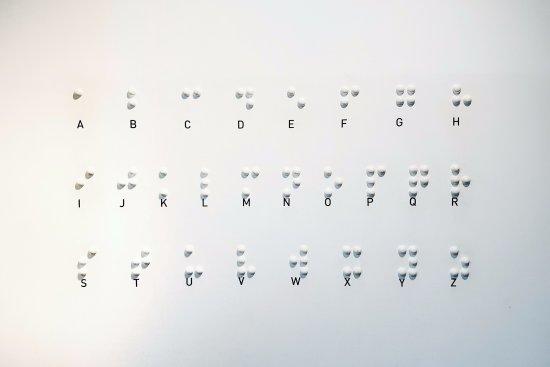 Dialog IM Dunkeln: Braille
