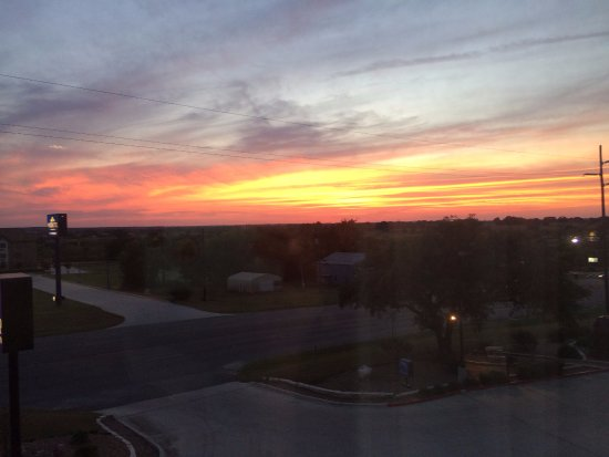 Gonzales, TX: View from the 3rd floor