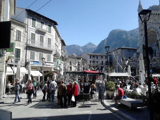 Markt in Soller