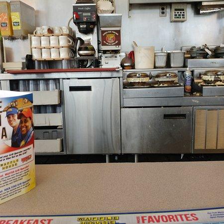 Christiansburg, VA: Waffle station