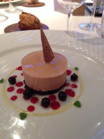 Monswiller, Francia: foie gras petits cassis et une gelee gouteuse