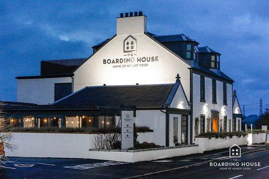 Wonderful The Boarding House, Howwood At Dusk