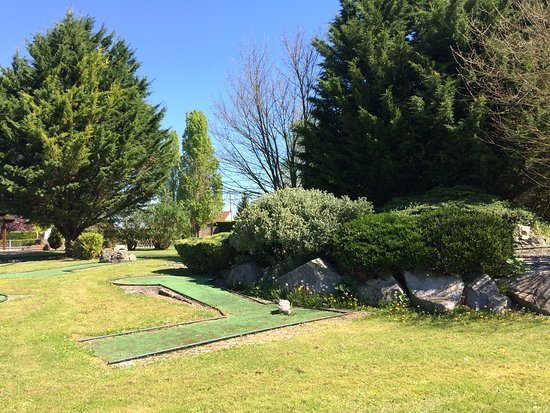 Avanton, France: Mini-golf du Camping du Futur