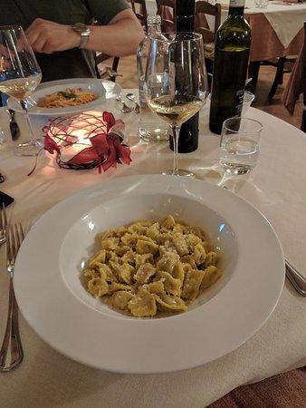 Agliano Terme, Italien: Homemade agnalotti
