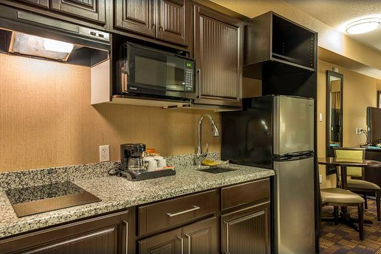 Fox Creek, Canada: Kitchenette room