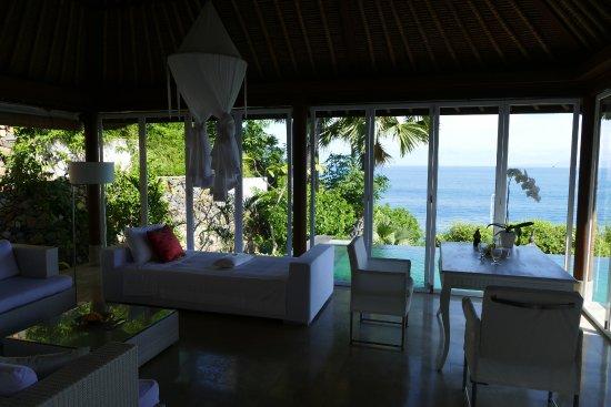 Shunyata Villas Bali: Wundervolle Terrasse