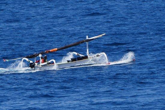 Seraya, Indonesia: Fischerboot