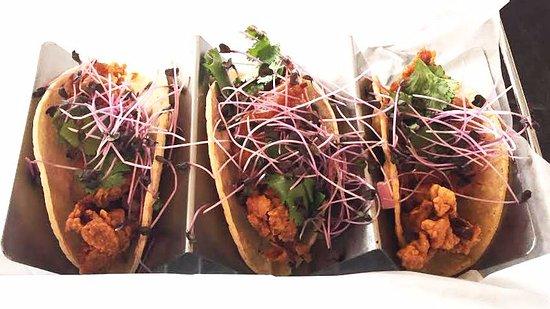 Okoboji, IA: Chicken Skin Tacos