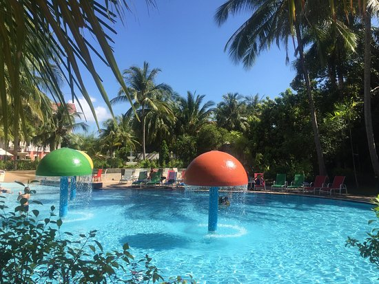 Aseania Resort & Spa Langkawi Island: Poolscape and the new glass roof