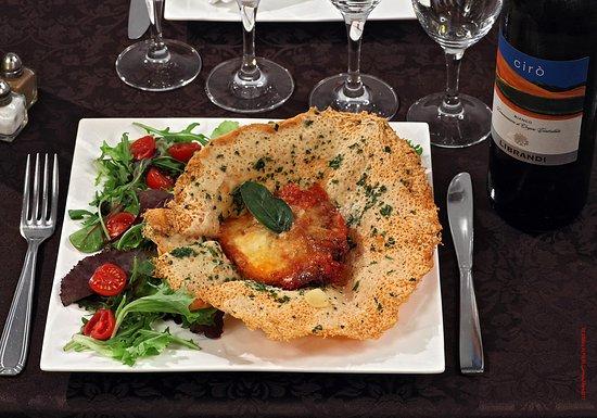 Ciro: Parmegiana: Aubergine, tomate, parmesan