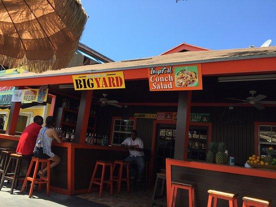 Big yard fish fry nassau restaurant reviews photos for Big fish seafood bistro