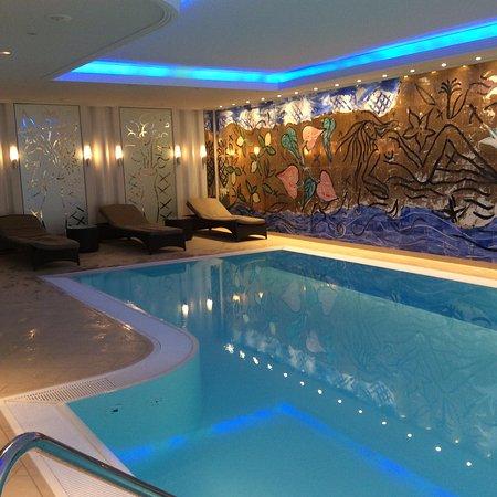 Joli espace piscine picture of hotel a la cour d 39 alsace for Piscine obernai