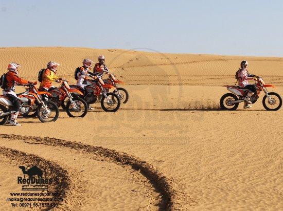 Mx Dirt Bike Safari Tour Dubai Mx Bike Sand Dune Adventure Dubai