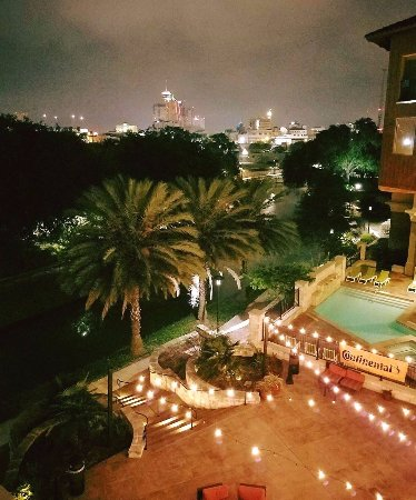 Daytime view from my room 301 king balcony picture of - Wyndham garden san antonio riverwalk ...