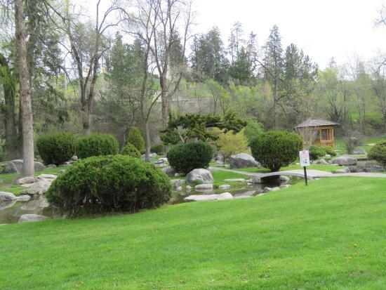 "Vernon, Kanada: ""Japanese"" gardens"