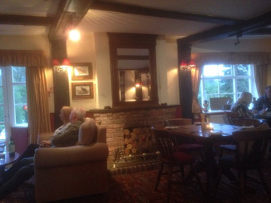 Cleobury Mortimer, UK: The crown inn at hop ton wafers